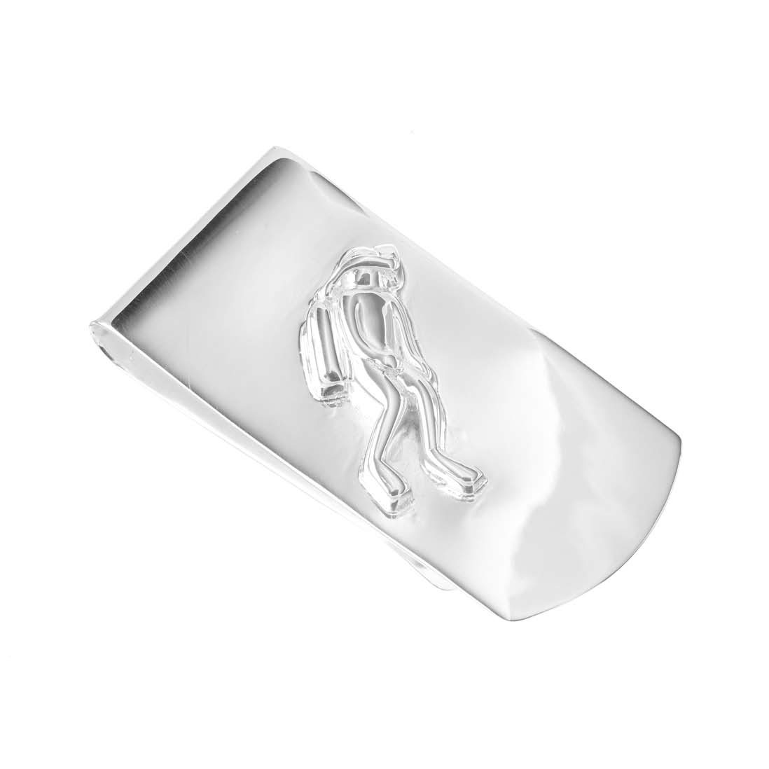 Sterling Silver Diver Money Clip