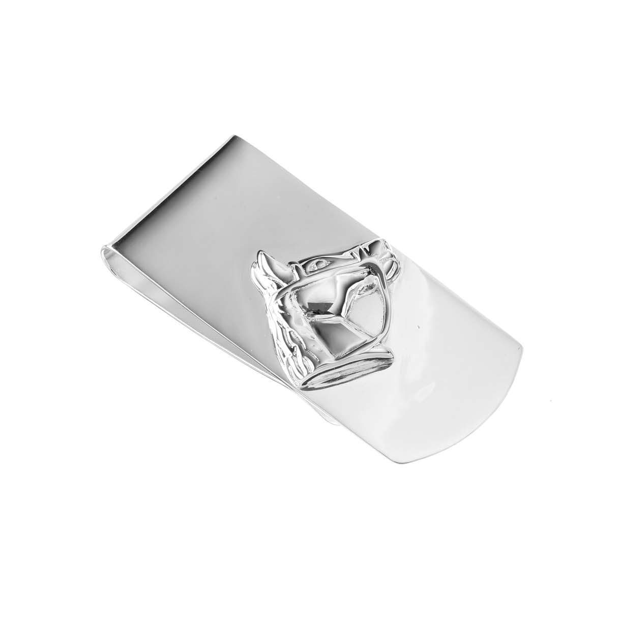 Sterling Silver Horse Head Money Clip