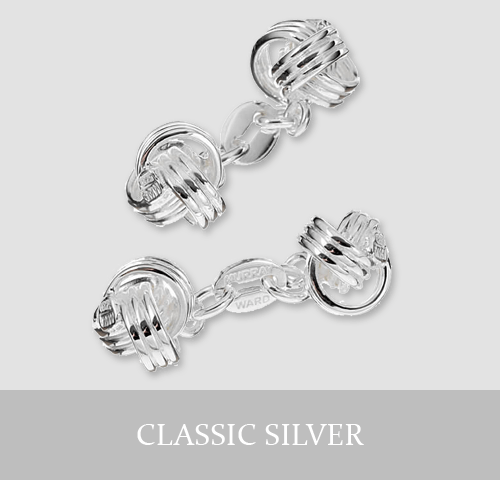 Classic Sterling Silver Cufflinks and Jewellery