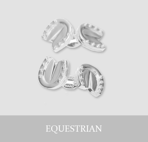 Sterling Silver Equestrian Cufflinks and Jewellery