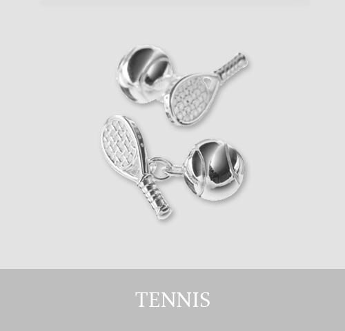 Sterling Silver Tennis Cufflinks and Jewellery